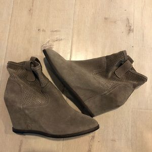 Sole Society Wedge booties